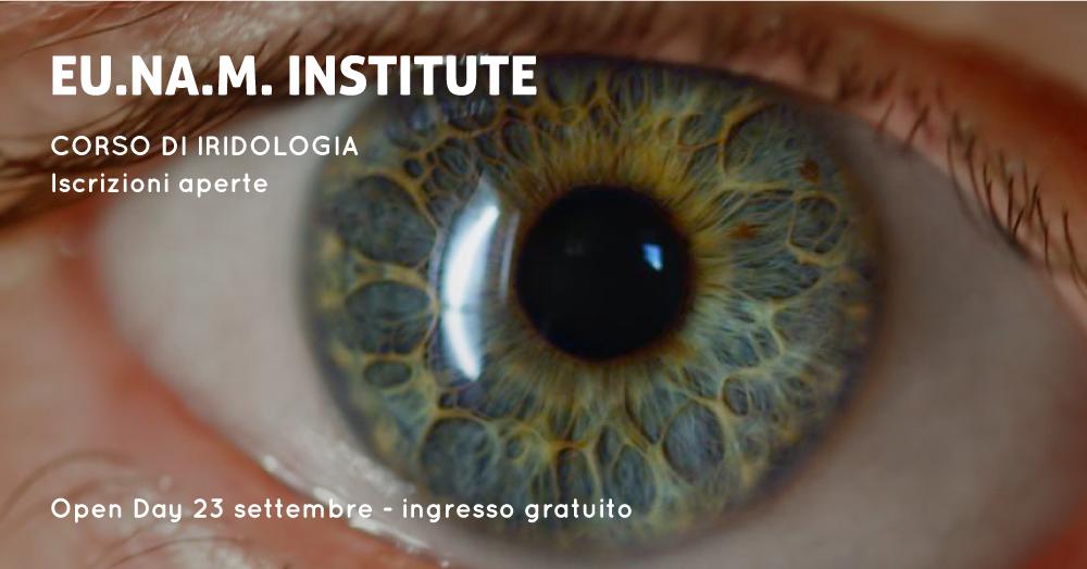 Open Day 23 settembre 2017: Corso di Iridologia