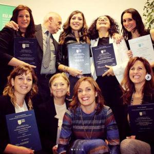 Studenti che hanno completato il corso di naturopatia a EUNAM Roma